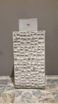Fles - DomeDeco - Grijs - 36 cm