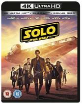Solo - A Star Wars Story (4K UHD + blu-ray) (Import zonder NL)