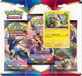 Afbeelding van Pokémon Sword & Shield 3BoosterBlister Marpeko - Pokémon kaarten