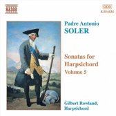 Soler: Harpsichord Son. Vol. 5