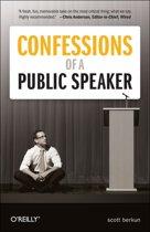 Boek cover Confessions of a Public Speaker van Scott Berkun (Paperback)