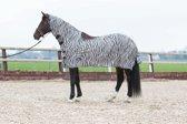 Harry Horse Vliegenrijdeken  Zebra - maat 215