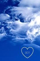 Sky: blank lined notebook