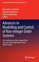 Advances in Modelling and Control of Non-integer-Order Systems