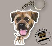 Sleutelhanger Hond Border Terrier