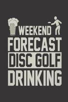 Weekend Forecast Disc Golf Drinking