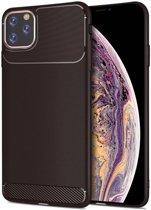 Apple iPhone 11 Pro Max Armor TPU Hoesje Bruin