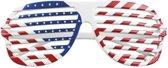 Lamellen bril in amerikaans disign