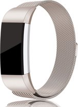 Fitbit Charge 2 Champagne Milanees Bandje Small