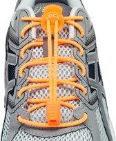 Lock Laces Oranje - Elastische schoenveters - Hardlopen