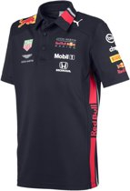 PUMA Red Bull Racing Team Polo Shirt Kinderen - NIGHT SKY - Maat 140