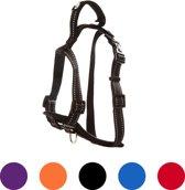 Pets&Partner® - Hondentuig - Hondenharnas van nylon - voor kleine en grote honden - M - Zwart