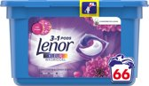Lenor 3in1 Pods Amethist & Bloemenboeket - Voordeelverpakking 66 Wabeurten - Wasmiddelcapsules