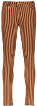 Street Called Madison Meisjes lange broeken Street Called Madison Luna striped twill pants MISS LUNA cognac 116