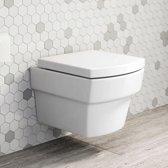Hangend Toilet Bondo Mari + Softclose Quick Release Zitting