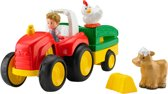 Fisher-Price Little People Duw & Rij Tractor