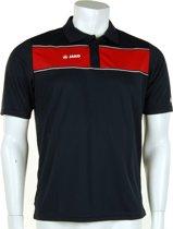 Jako Polo Player - Sportpolo -  Heren - Maat S - Dark Navy;Red