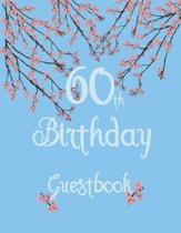 60th Birthday Guestbook