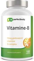 Vitamine B Tabletten - 100 Tabletten - PerfectBody.nl