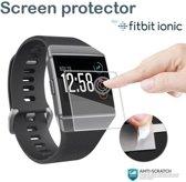 KELERINO. Screenprotector voor Fitbit Ionic - Plastic - 3 stuks