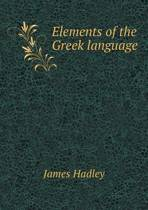 Elements of the Greek Language