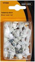 Elektrofix kabelclip 8 mm rond 50 st