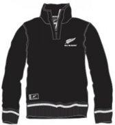 All Blacks 1/4 zip hoodie maat 140