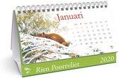 Desk kalender 2020 Rien Poortvliet (21 x 14)