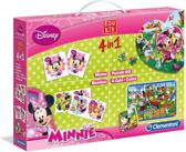 Clementoni 4-in-1 Puzzeldoos - Minnie Mouse