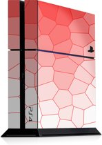 Playstation 4 Console Sticker Bio Cells Rood-PS4 Skin