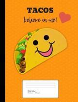 Taco Love Composition Book