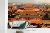 Fotobehang vinyl - De verboden stad van Jingshan Park breedte 330 cm x hoogte 220 cm - Foto print op behang (in 7 formaten beschikbaar)