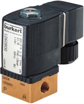 G1/8'' Messing NO 24VDC Magneetventiel Burkert 6013 222802 - 222802