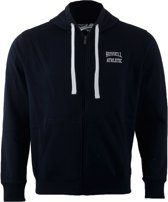 Russell Athletic Zip Through Hooded - Sporttrui - Mannen - Maat S - Navy
