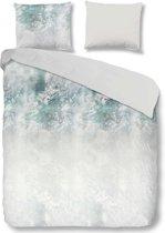 Good Morning 5716-A Whitney - dekbedovertrek - lits jumeaux - 240x200/220 cm  - 100% cotton - grijs