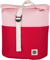 Rolltop Backpack - Red / Pink
