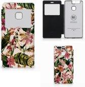 Huawei P9 Hoesje Flowers