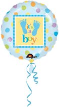 It's a boy - geboorte ballon jongen