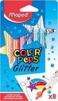 Maped Color'Peps Glitter Stiften 8 Kleuren