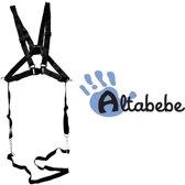 Altabebe - Tuigje voor kinderen - Veiligheidstuigje voor Kinderstoel, Fietsstoeltje, Buggy en Wandelwagen