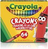 Crayola 64 waskrijtjes