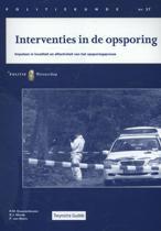 Politiekunde 57 - Interventies in de opsporing
