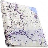 Filofax A5 Clipbook Patterns Retro Map
