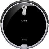 ILIFE A8 Robotstofzuiger Smart Panoramic Navigation & Route Planning Piano Zwart