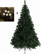 Everlands Imperial Pine Kunstkerstboom - 210 cm hoog - Met 18m losse snoerverlichting