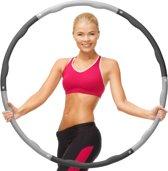 Weight Hoop Original - Fitness hoelahoep - 1.2 kg - Ø 100 cm - Zwart/Grijs