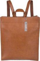 MYOMY My Paper Bag Back Leather Shoulder Straps Rugzak - Bruin
