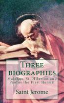 Three Biographies