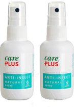 2X Care Plus citriodiol Natural kids muggenspray zonder deet 60 ml