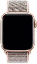 Apple Band 40 mm Geweven sportbandje - Rozenkwarts